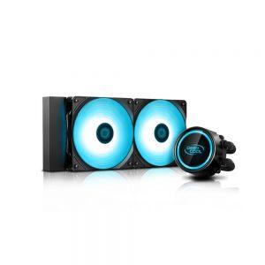 AIO Liquid Cooling DEEPCOOL GAMMAXX L240 V2, 2x120mm
