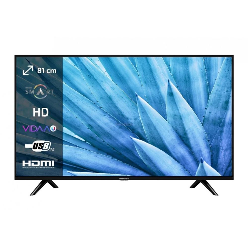 """32"""" LED Smart TV Hisense H32B5600 Black"""