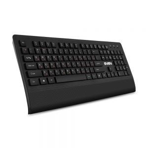 Tastatura & Mouse & Mouse Pad SVEN KB-C3800W Black fara fir